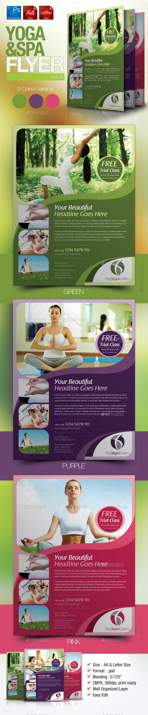 Simple Yoga Flyer Vol.3 - Miscellaneous Events