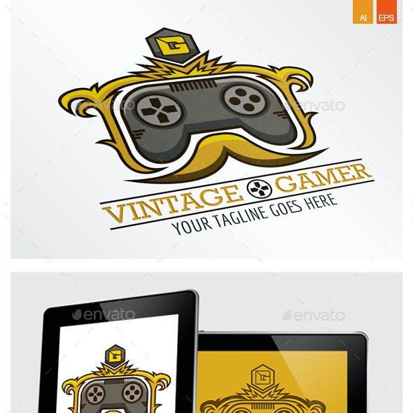 Vintage Gamer Logo