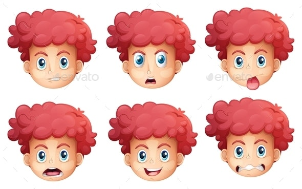 Facial Expressions - People Characters