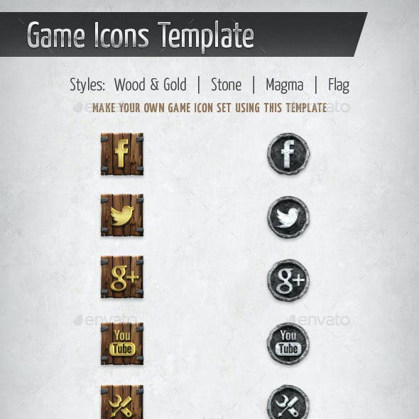Game Icons Template