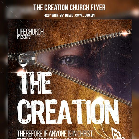 The Creation Church Flyer