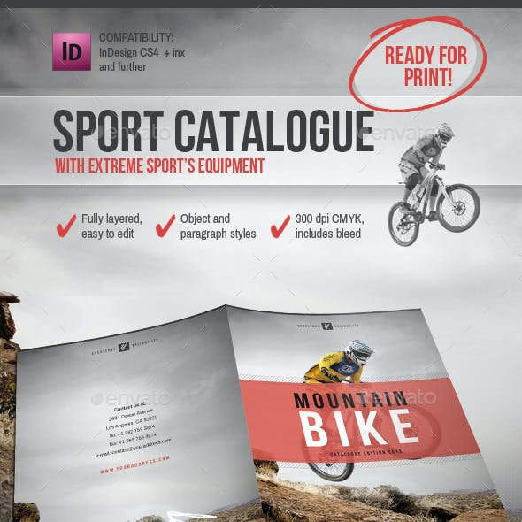Sport Equipment Catalogue