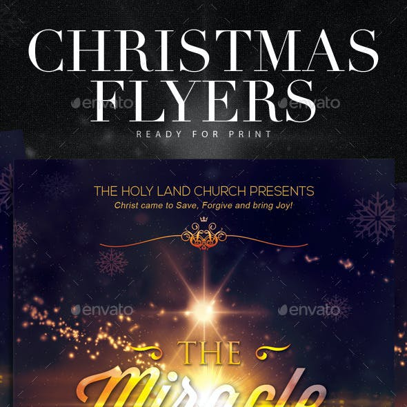 Christmas Flyer Series - Christmas Miracle