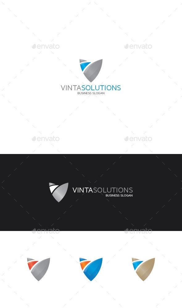 Abstract Shield Logo - Abstract Logo Templates