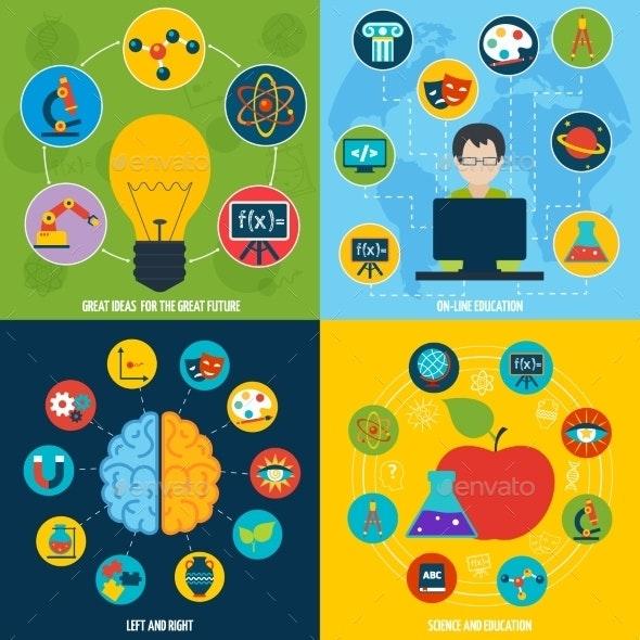 Science Education Set - Concepts Business