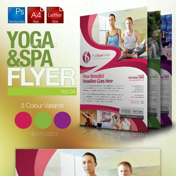 Simple Yoga Flyer Vol.4