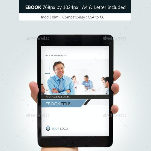 Corporate Ebook Template Design