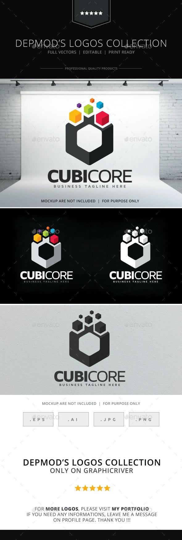 Cubicore Logo - Abstract Logo Templates