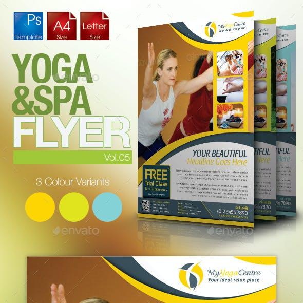 Simple Yoga Flyer Vol.5