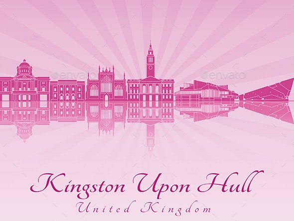 Kingston Upon Hull Skyline - Buildings Objects