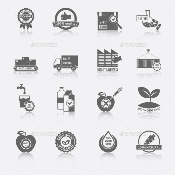 Quality Control Icons - Technology Icons