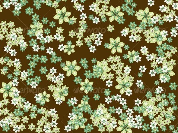 Flower Background - Backgrounds Decorative