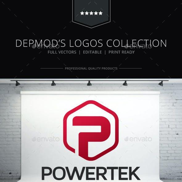 Powertek V.02 Logo