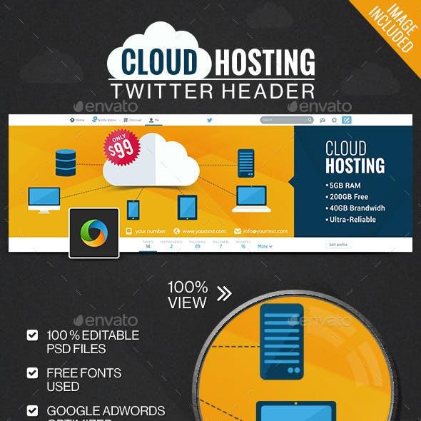 Web Hosting Twitter Header