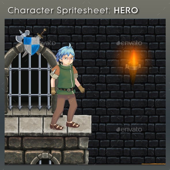 Character Spritesheet: Hero