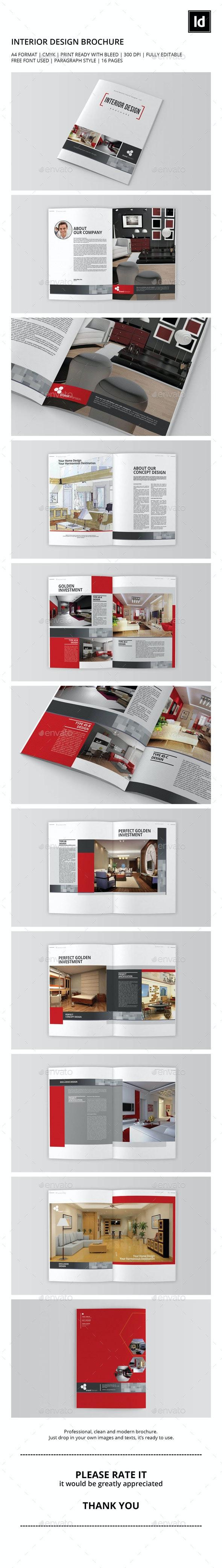Interior Design Brochure/Catalog Vol.1 - Catalogs Brochures