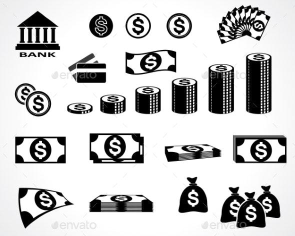 Money Symbols - Retail Commercial / Shopping