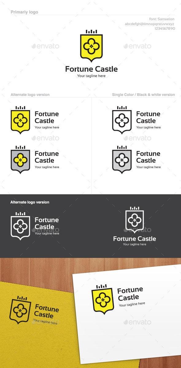 Fortune Castle Logo - Symbols Logo Templates