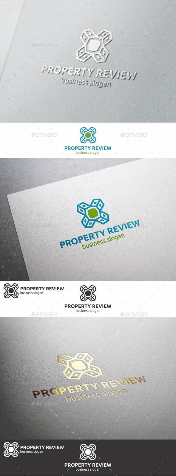 Property Review Logo - Symbols Logo Templates