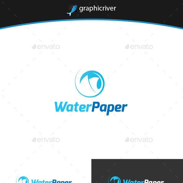 Water Paper Logo