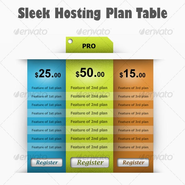 Sleek Hosting Table