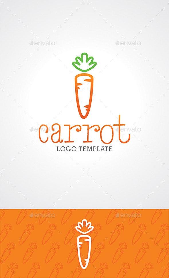 Carrot Logo Template - Food Logo Templates