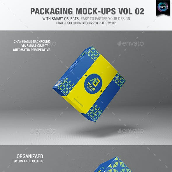 Packaging Mock-ups 2
