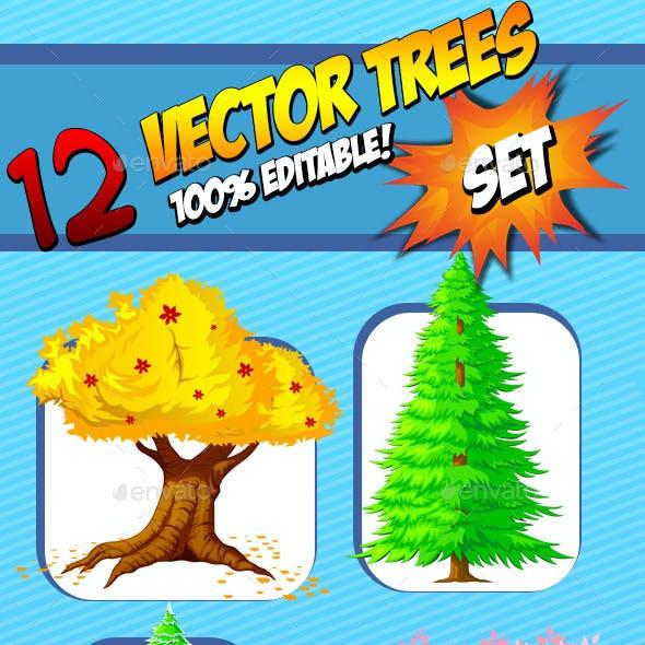 Vector Trees - Set
