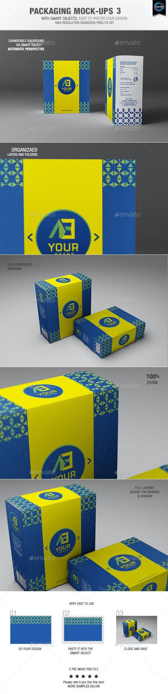 Packaging Mock-ups 3 - Packaging Product Mock-Ups