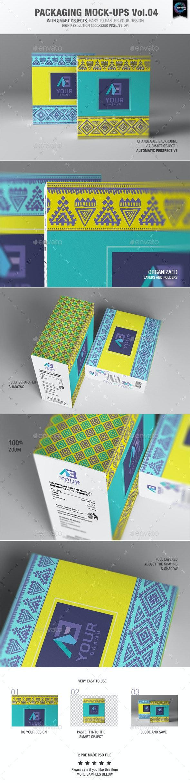 Packaging Mock-ups 4 - Packaging Product Mock-Ups
