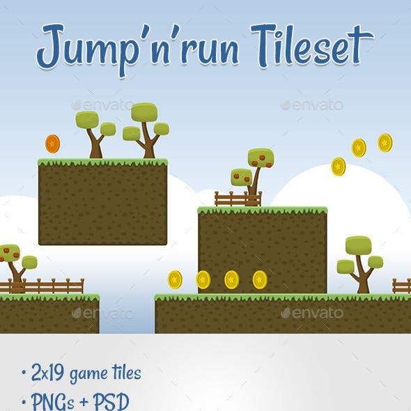 Jump 'n' Run Tileset