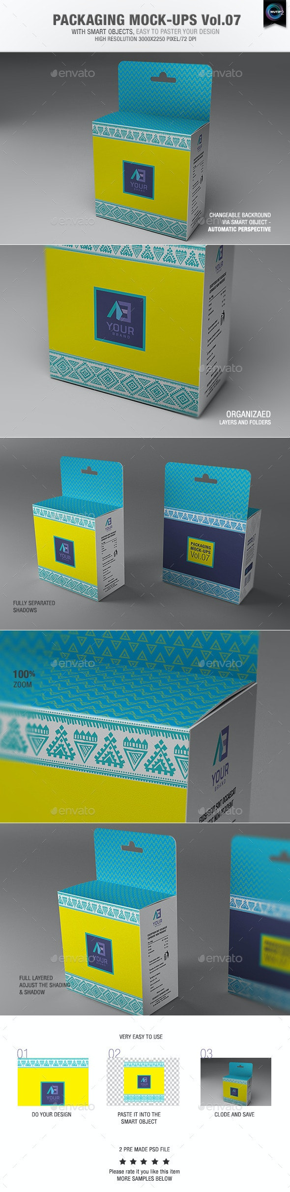 Packaging Mock-ups 7 - Packaging Product Mock-Ups