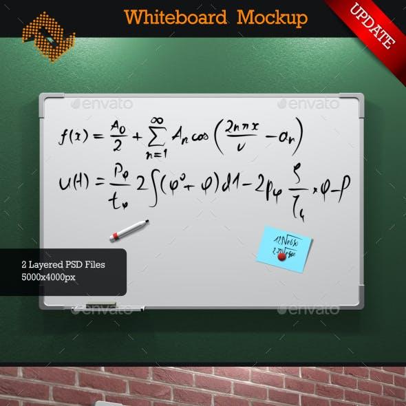 Whiteboard Mock-Up