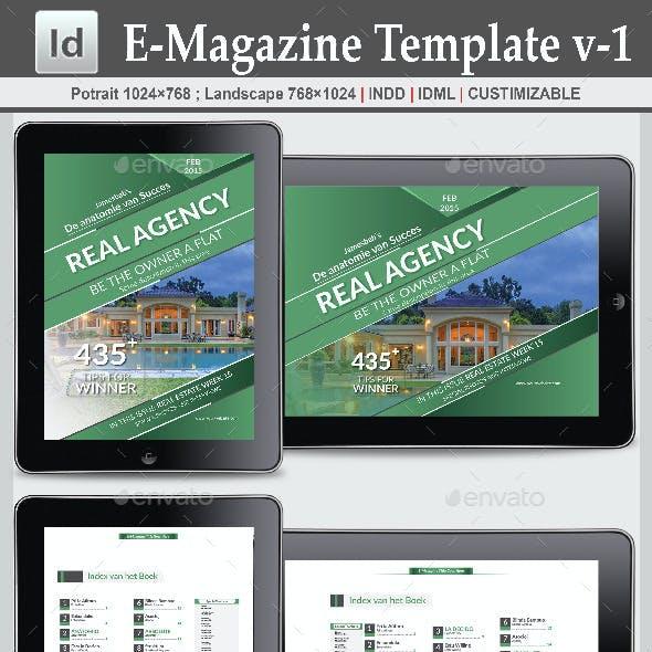 E-Magazine Template v-1