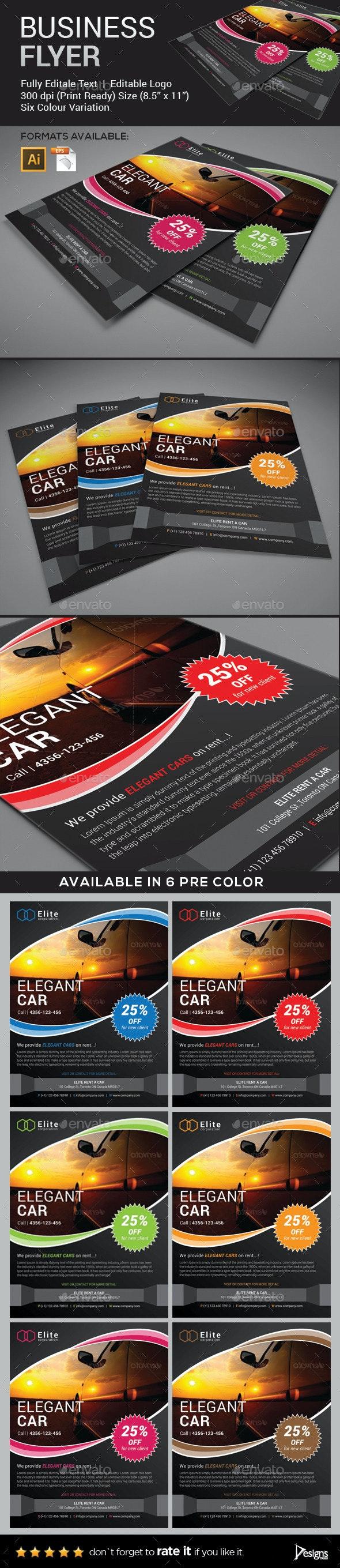 Flyer - Multipurpose Business Flyer 4 - Flyers Print Templates