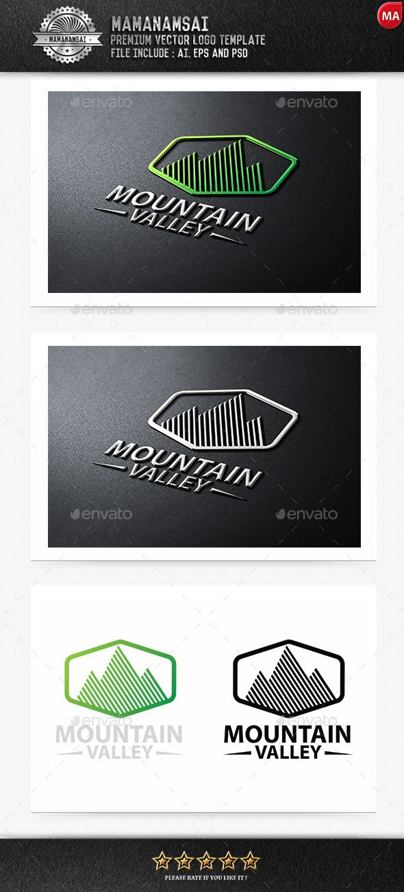 Mountain Logo - Nature Logo Templates