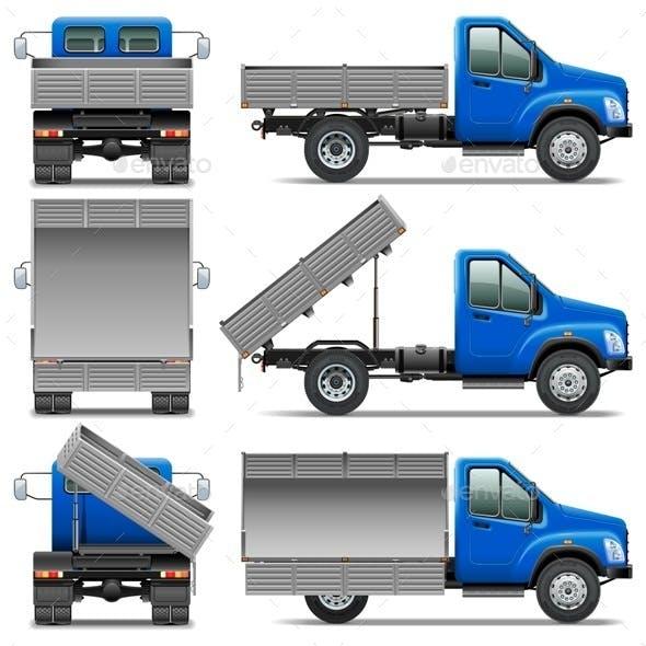Lorry Icons Set 4