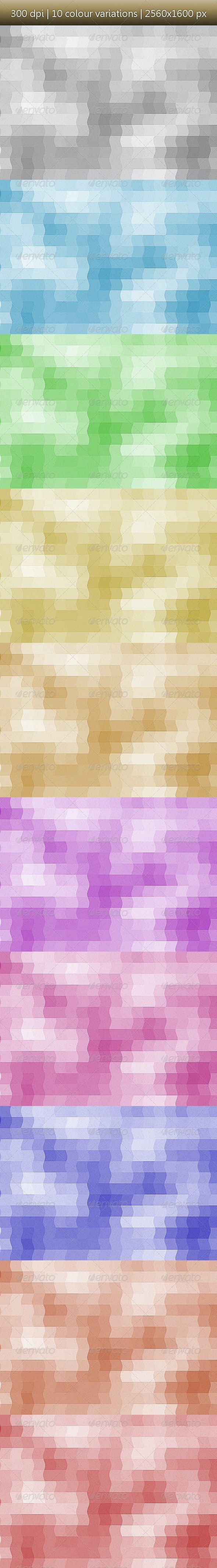 Wiggly Pixels - Backgrounds - Abstract Backgrounds