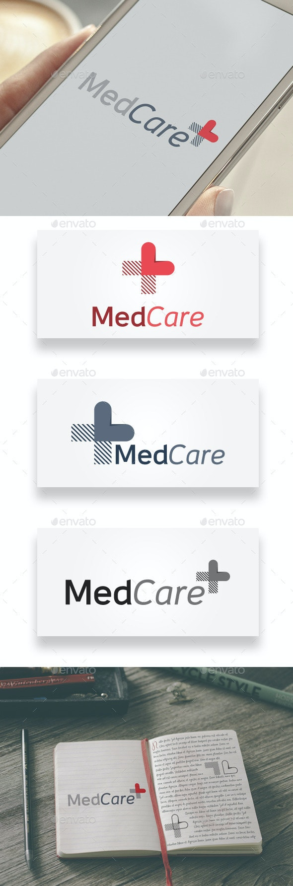 MedCare Logo - Abstract Logo Templates