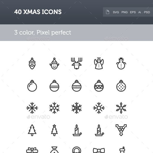 Xmas Icon Set