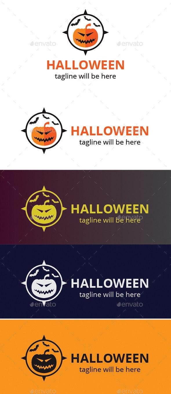 Halloween Logo - Logo Templates