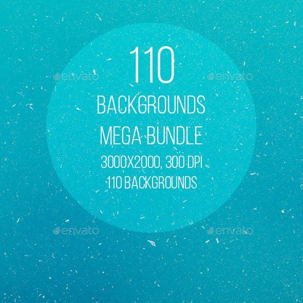110 Backgrounds Mega Bundle