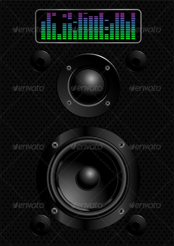 Sound speakers - Technology Conceptual