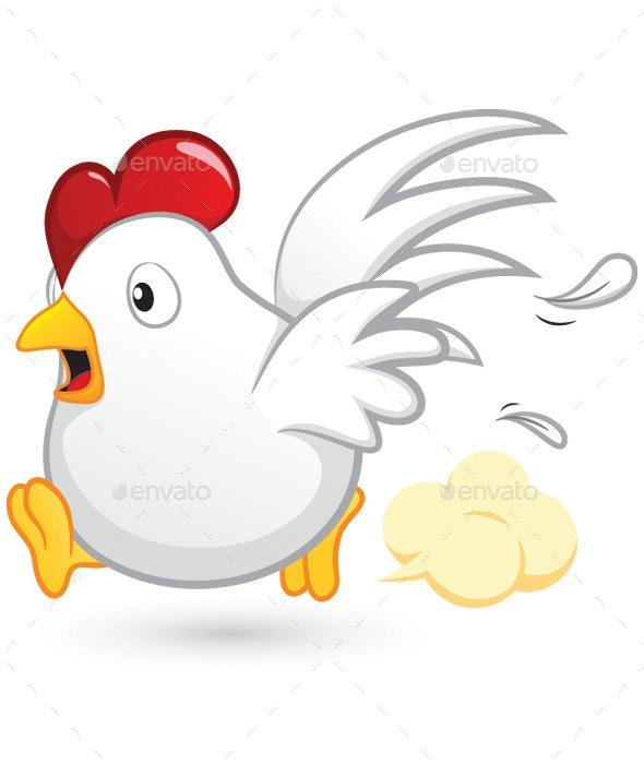Chicken Run - Animals Characters