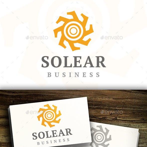 Sun Abstract Logo
