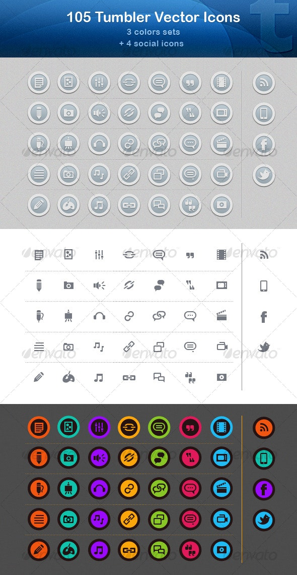 105 Tumbler Vector Icons - Web Icons