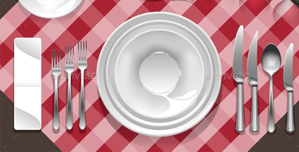 Tableware - Food Objects
