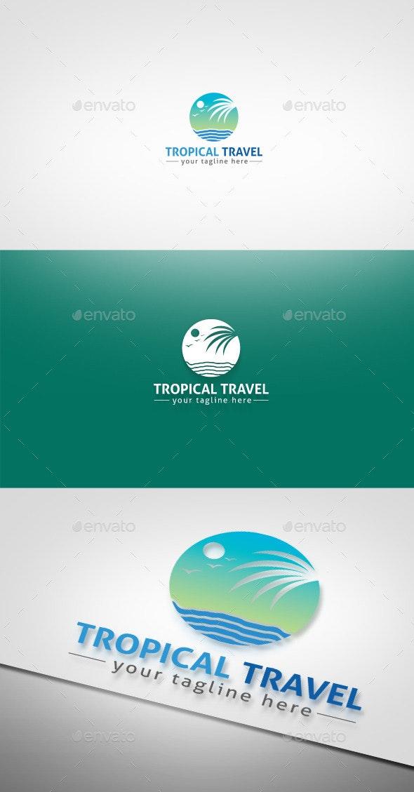 Tropical Travel - Nature Logo Templates