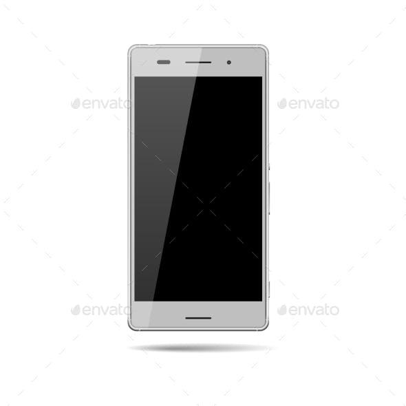 Vector Smartphone Mockup