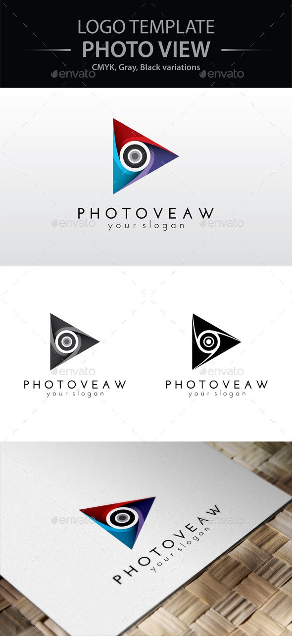 Photo View Logo - Symbols Logo Templates
